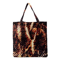 Fabric Yikes Texture Grocery Tote Bag