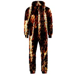 Fabric Yikes Texture Hooded Jumpsuit (men)