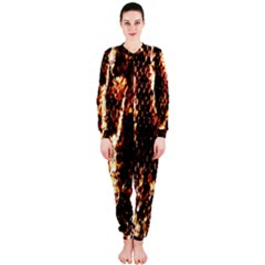 Fabric Yikes Texture Onepiece Jumpsuit (ladies)