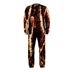 Fabric Yikes Texture Onepiece Jumpsuit (kids)