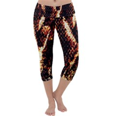 Fabric Yikes Texture Capri Yoga Leggings