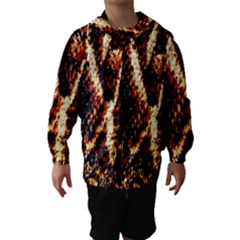 Fabric Yikes Texture Hooded Wind Breaker (Kids)