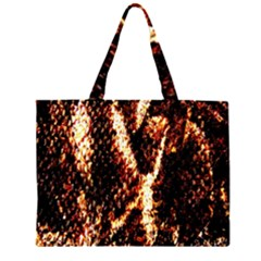 Fabric Yikes Texture Large Tote Bag