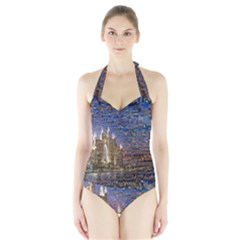 Dubai Halter Swimsuit