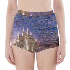 Dubai High Waisted Bikini Bottoms