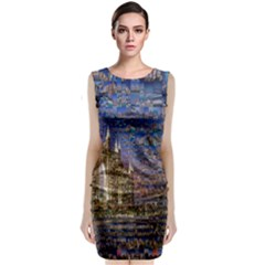 Dubai Classic Sleeveless Midi Dress
