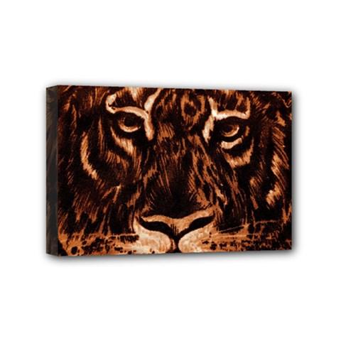 Eye Of The Tiger Mini Canvas 6  x 4