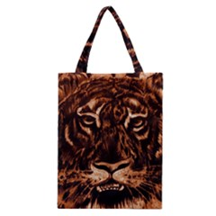 Eye Of The Tiger Classic Tote Bag
