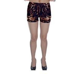 Eye Of The Tiger Skinny Shorts