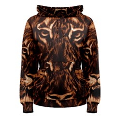 Eye Of The Tiger Women s Pullover Hoodie