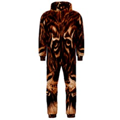 Eye Of The Tiger Hooded Jumpsuit (men)