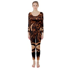 Eye Of The Tiger Long Sleeve Catsuit