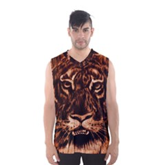 Eye Of The Tiger Men s Basketball Tank Top
