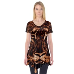 Eye Of The Tiger Short Sleeve Tunic