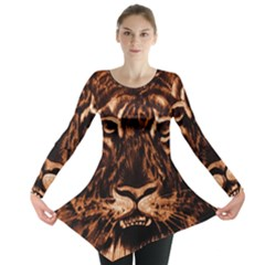 Eye Of The Tiger Long Sleeve Tunic