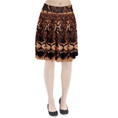 Eye Of The Tiger Pleated Skirt
