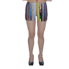 Fabric Skinny Shorts