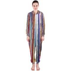Fabric Hooded Jumpsuit (Ladies)