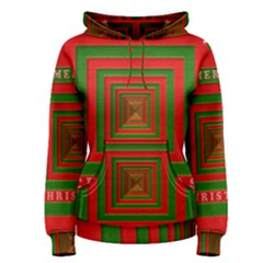 Fabric 3d Merry Christmas Women s Pullover Hoodie