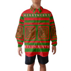 Fabric 3d Merry Christmas Wind Breaker (Kids)