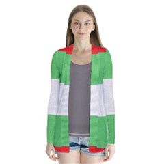 Fabric Christmas Colors Bright Cardigans