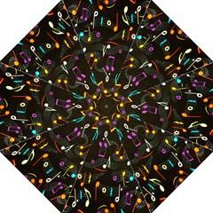 Fabric Cloth Textile Clothing Hook Handle Umbrellas (Large)
