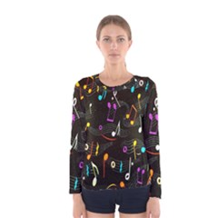 Fabric Cloth Textile Clothing Women s Long Sleeve Tee
