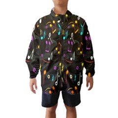 Fabric Cloth Textile Clothing Wind Breaker (Kids)