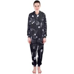 Fabric Cloth Textile Clothing Hooded Jumpsuit (ladies)