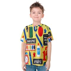 Fabric Cloth Textile Clothing Kids  Cotton Tee