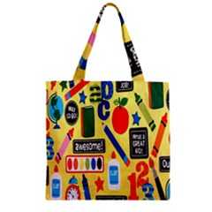 Fabric Cloth Textile Clothing Zipper Grocery Tote Bag