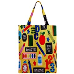 Fabric Cloth Textile Clothing Zipper Classic Tote Bag