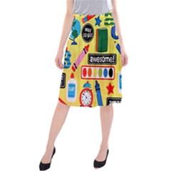 Fabric Cloth Textile Clothing Midi Beach Skirt