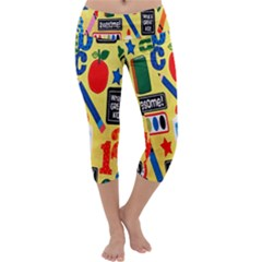 Fabric Cloth Textile Clothing Capri Yoga Leggings