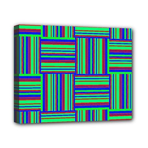 Fabric Pattern Design Cloth Stripe Canvas 10  X 8