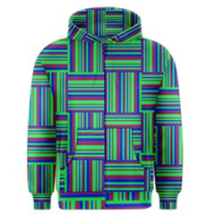 Fabric Pattern Design Cloth Stripe Men s Zipper Hoodie
