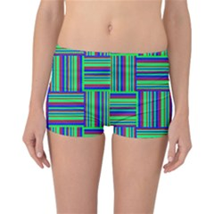 Fabric Pattern Design Cloth Stripe Reversible Bikini Bottoms