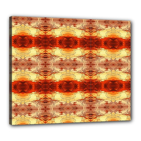 Fabric Design Pattern Color Canvas 24  x 20
