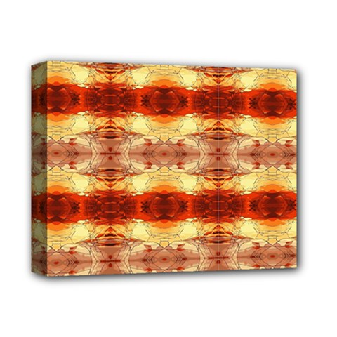 Fabric Design Pattern Color Deluxe Canvas 14  x 11