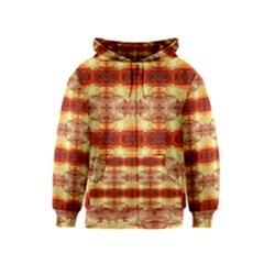 Fabric Design Pattern Color Kids  Zipper Hoodie
