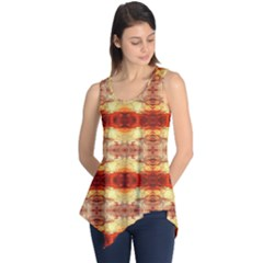 Fabric Design Pattern Color Sleeveless Tunic