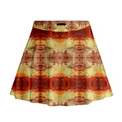 Fabric Design Pattern Color Mini Flare Skirt