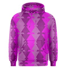 Fabric Textile Design Purple Pink Men s Pullover Hoodie