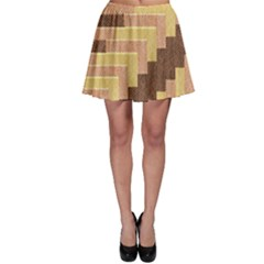 Fabric Textile Tiered Fashion Skater Skirt