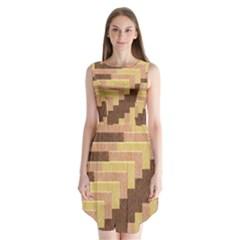 Fabric Textile Tiered Fashion Sleeveless Chiffon Dress