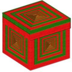 Fabric Texture 3d Geometric Vortex Storage Stool 12