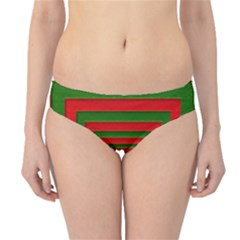 Fabric Texture 3d Geometric Vortex Hipster Bikini Bottoms