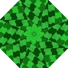Fabric Textile Texture Surface Hook Handle Umbrellas (Medium)