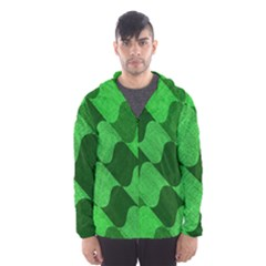 Fabric Textile Texture Surface Hooded Wind Breaker (Men)
