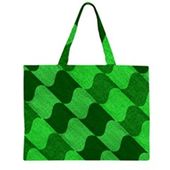 Fabric Textile Texture Surface Zipper Large Tote Bag